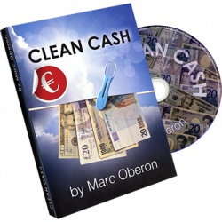 Clean Cash by Marc Oberon, Gimmick & DVD, Sprache:...