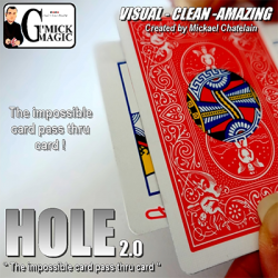 Hole 2.0 by Mickael Chatelain, Gimmicks & DVD,...