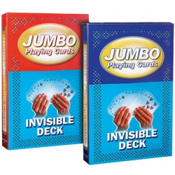 Jumbo Invisible Deck