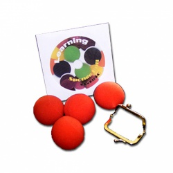 Learning Sponge Ball Magic, Zubeh�r & DVD,...