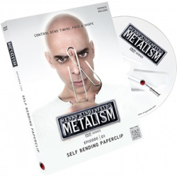 Metalism 1: Self Bending Paperclip, Gimmicks & DVD,...