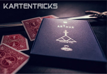 Kartentricks bei Its Magic Zaubershop