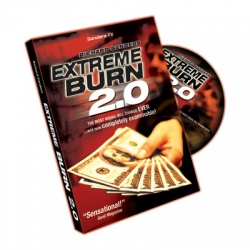 Extreme Burn 2.0, by Richard Sanders, Gimmick & DVD,...