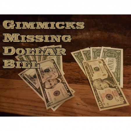 Missing Dollar Bills (Gimmicks zum Download-Produkt Missing Dollar Bill)