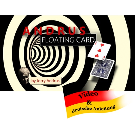 Andrus Floating Card - Bicyle Rider Back Rot