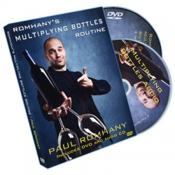 DVD-Set: Paul Romhanys Multiplying Bottles Routine