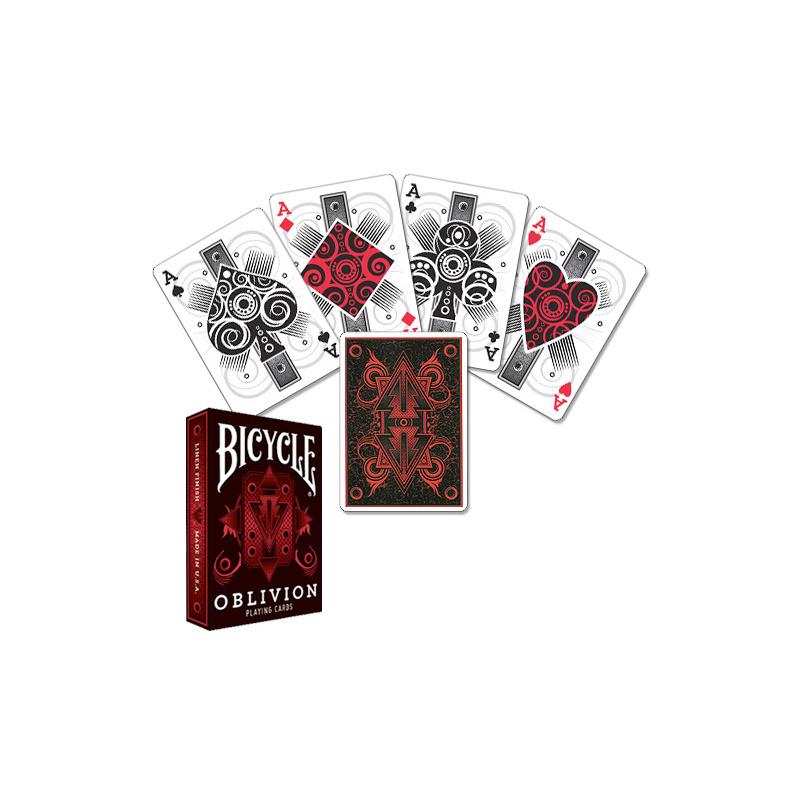 Bicycle Oblivion Deck - Red - Zaubertrick Zauberartikel Zaubertricks
