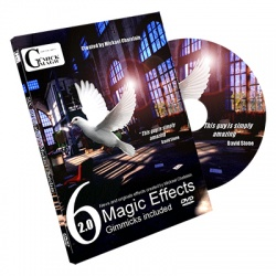 Six Magic Effects 2.0 inkl. Gimmicks by Mickael...