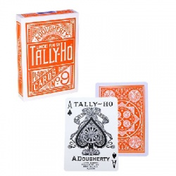 Tally Ho Fan Back Orange, Kartenspiel