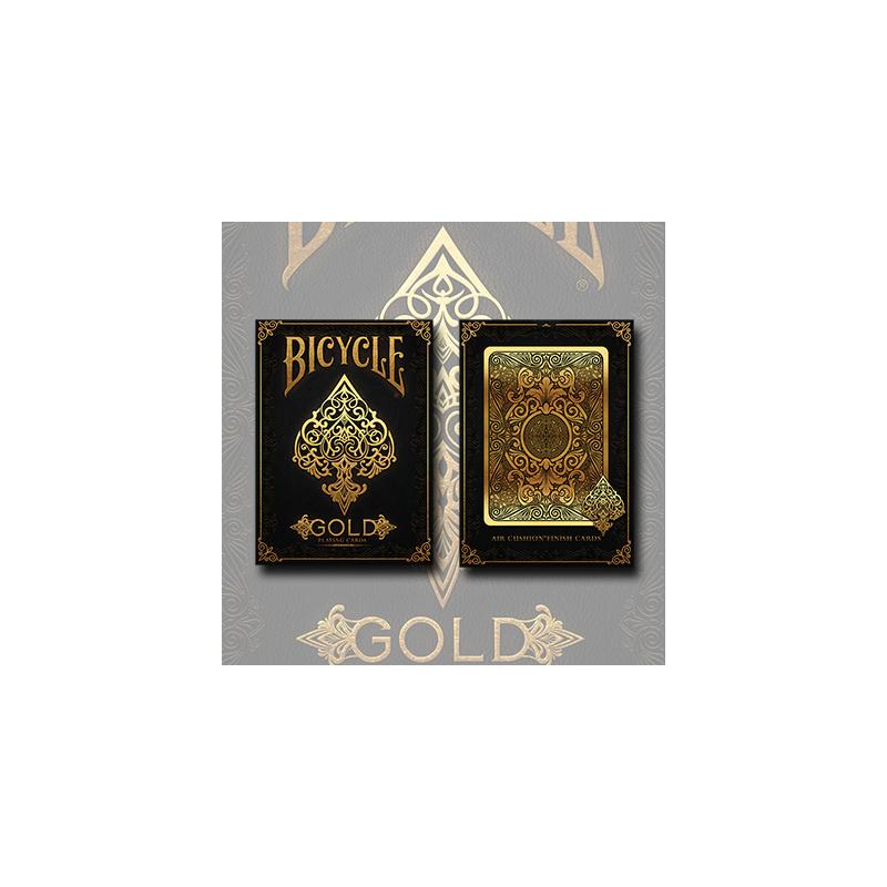 Bicycle Gold Deck - Limited Edition - Zaubertrick Zauberartikel Zaubertricks