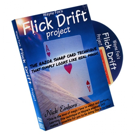 Flick Drift Project, by Wayne Fox, DVD, Sprache: englisch