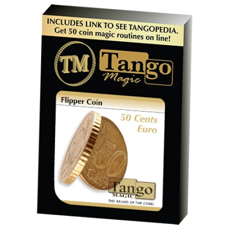Flipper Coin by Tango Magic, 50 Cent Version