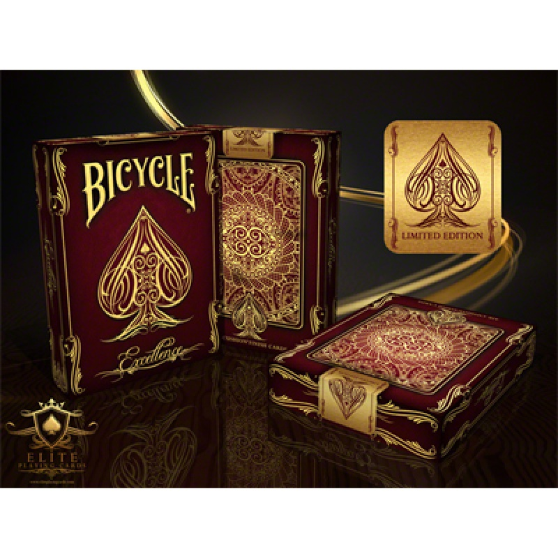 Bicycle Excellence Deck - Zaubertrick Zauberartikel Zaubertricks