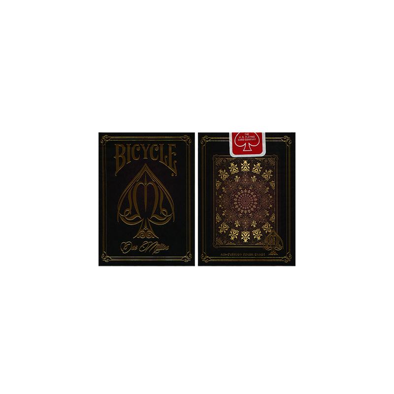 Bicycle One Million Deck (Red) - Zaubertrick Zauberartikel Zaubertricks