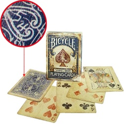 Bicycle Deck - Vintage Series 1800 (Blue) inkl....