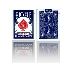 Bicycle Deck, Bicycle Cards (Old Case) Blau