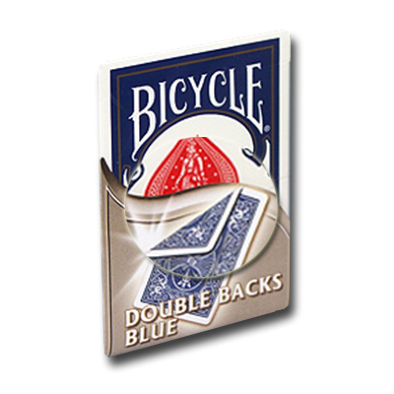 Bicycle Doppelrücken-Karten Blau-Blau - Zaubertrick Zauberartikel Zaubertricks