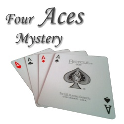 Four Aces Mystery, Bicycle Bicycle Blau