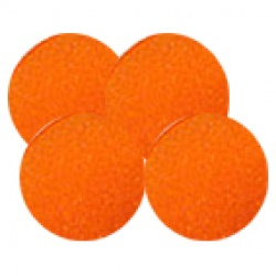 Sponge Balls, Super Soft by Albert Goshman Orange