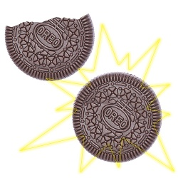 Folding Cookie - Faltkeks (Oreo-Version)