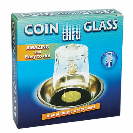 Zaubertricks Kaufen Coin Thru Glass Münze Durch Glas