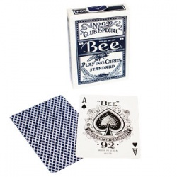 Bee Playing Cards Standard, Blau