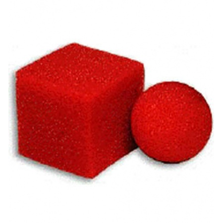 Square Ball Mystery, Sponge Balls Super Soft