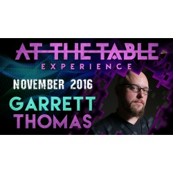 At the Table Live Lecture Garrett Thomas November 2nd...
