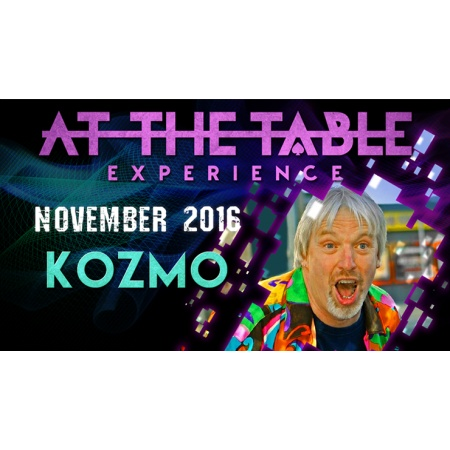 At The Table Live Lecture Kozmo November 16th 2016 video DOWNLOAD
