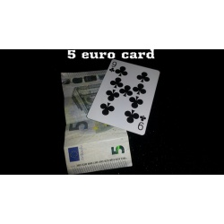 5 euro card by Emanuele Moschella video DOWNLOAD