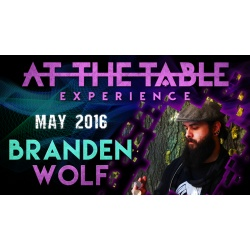 At the Table Live Lecture Branden Wolf May 4th 2016 video...
