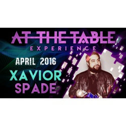 At the Table Live Lecture Xavior Spade April 6th 2016...