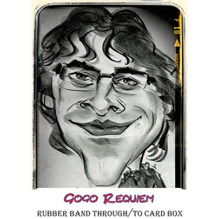 Rubber band through/to card box by Gogo Requiem video DOWNLOAD