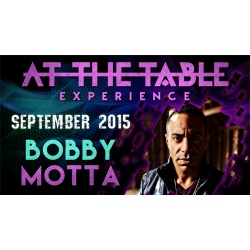 At the Table Live Lecture Bobby Motta September 16th 2015...
