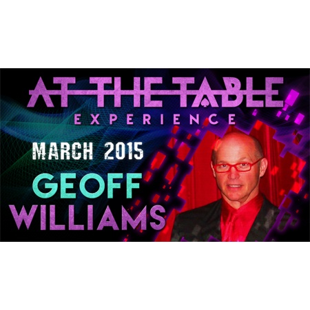 At the Table Live Lecture - Geoff Williams 3/25/2015 - video DOWNLOAD