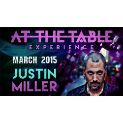 At the Table Live Lecture - Justin Miller 3/18/2015 -...