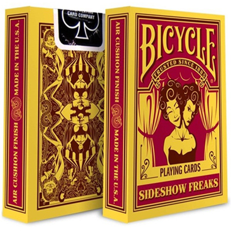 Bicycle Sideshow Freaks Playing Cards - Zaubertrick Zauberartikel Zaubertricks