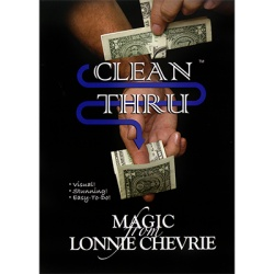 Clean Thru - Clear Thru by Lonnie Chevrie and Kozmo Magic...
