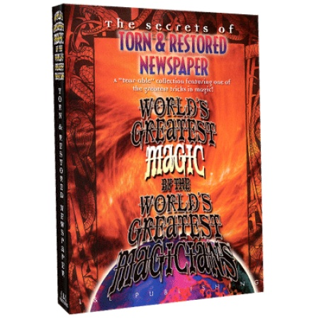 Torn And Restored Newspaper (Worlds Greatest Magic) video DOWNLOAD