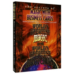 Magic with Business Cards (Worlds Greatest Magic) video...