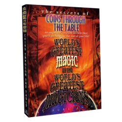 Coins Through Table (Worlds Greatest Magic) video DOWNLOAD