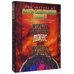 Master Card Technique Volume 2 (Worlds Greatest Magic)...