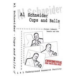 Al Schneider Cups & Balls by L&L Publishing video DOWNLOAD