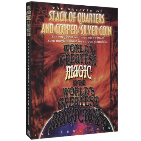 Stack Of Quarters And Copper/Silver Coin (Worlds Greatest Magic) video DOWNLOAD