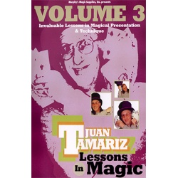Lessons in Magic Volume 3 by Juan Tamariz video DOWNLOAD