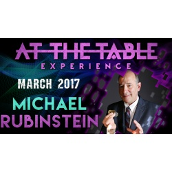 At the Table Live Lecture Michael Rubinstein March 1st...