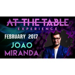 At The Table Live Lecture João Miranda February 15th...