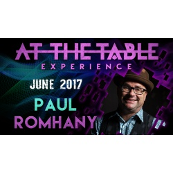 At The Table Live Lecture Paul Romhany June 7th 2017...