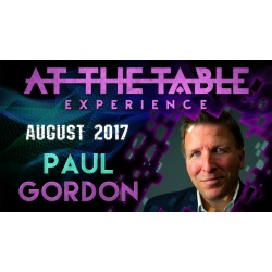 At The Table Live Lecture Paul Gordon August 16th 2017...