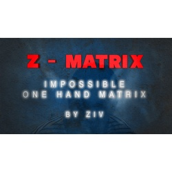 Z - Matrix (Impossible One Hand Matrix) by Ziv video...